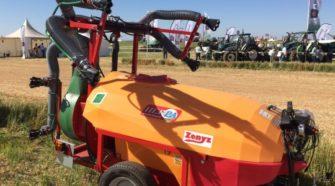 Maquinaria fitosanitaria, tecnología 4.0 para la agricultura