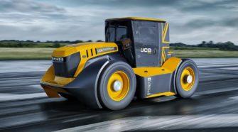 JCB Fastrac Two es el tractor más rápido del mundo
